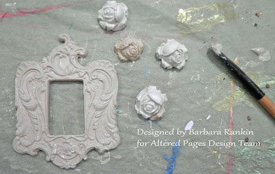 permastone casting compound rose molds