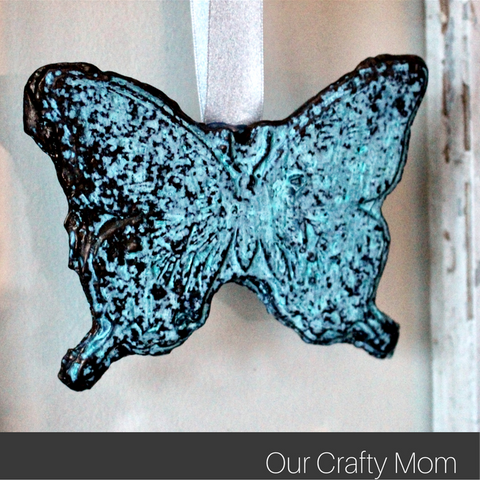 Learn how to make beautiful butterflies with this Permastone tutorial from Our Crafty Mom.