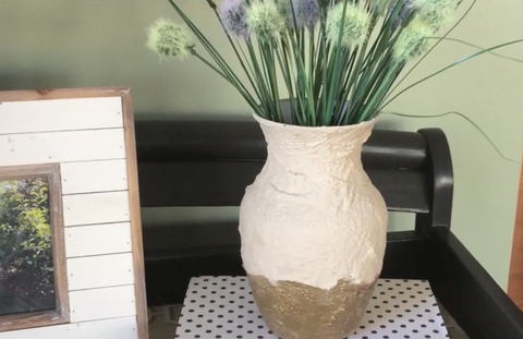 How to Make Lookalike Pottery with Rigid Wrap