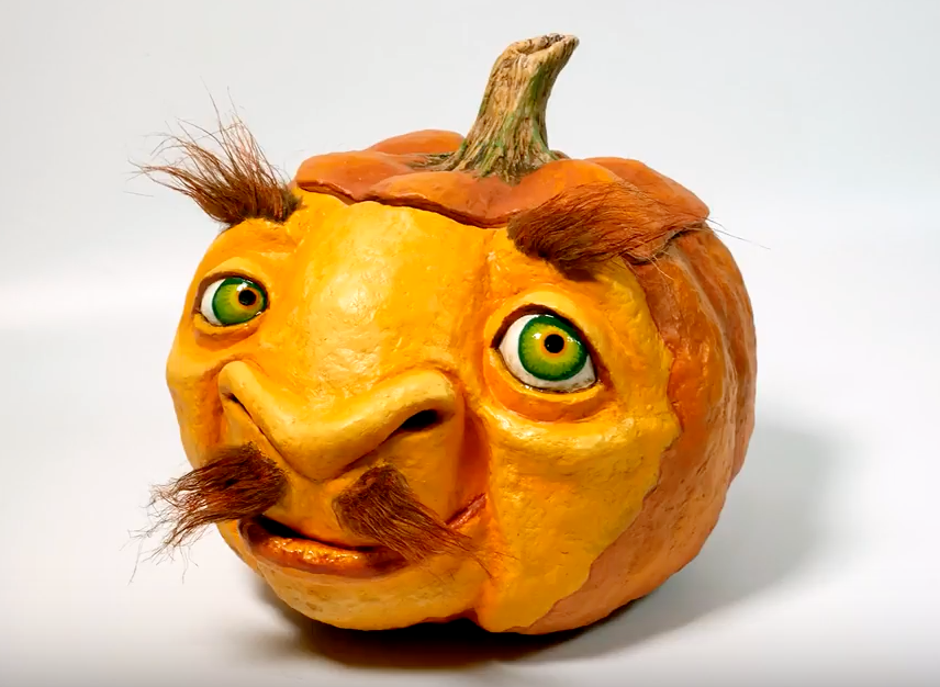 How to Sculpt a Pumpkin with CelluClay