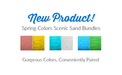 NEW Spring Colors Scenic Sand Bundles!