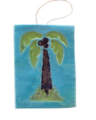 Activ-Clay Leaf Tile or Palm Tree Tile ~ Designed by Carolyn Stearns