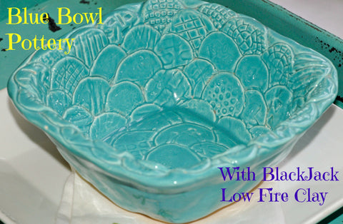 Bowl with Soul Using Blackjack Low Fire Clay By Karen Lowrey
