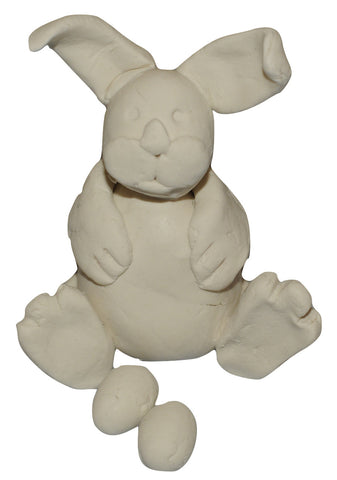 sculpt a cllay easter bunny