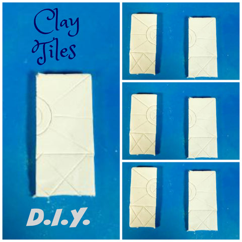 diy clay tiles video tutorial