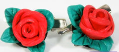 Use ColorPLUS Colored Clay to Make Rose Hair Clips