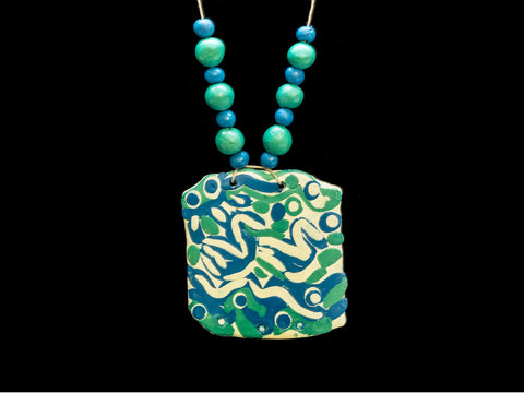 air dry clay jewelry