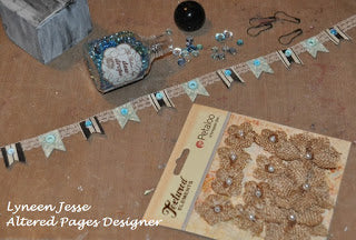 altered pages supplies for crafts