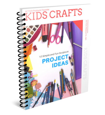 FREE eBook of ACTÍVA's Favorite Sculpture Kids Crafts