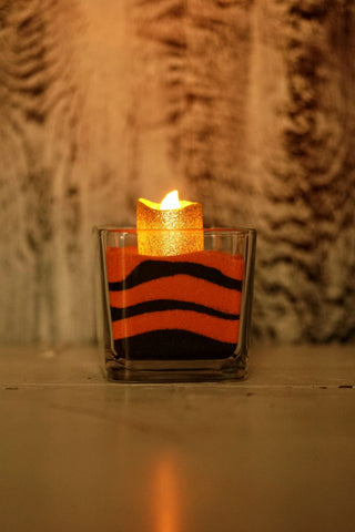 Halloween Colored Sand ART candle