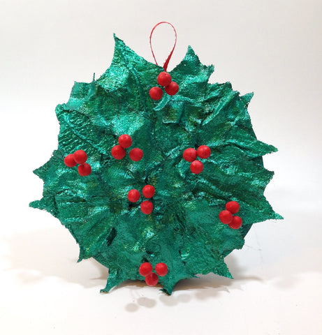 Holiday Holly Wreath For Activa Products by Lisa Fulmer