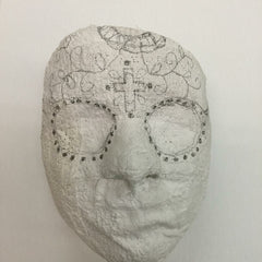 Day of the Dead Masks with Rigid Wrap Plaster Cloth