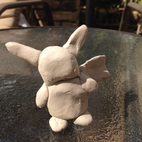 make a pokemon with clay