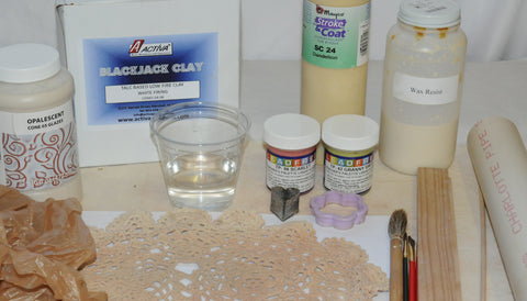 ceramic mug tutorial materials