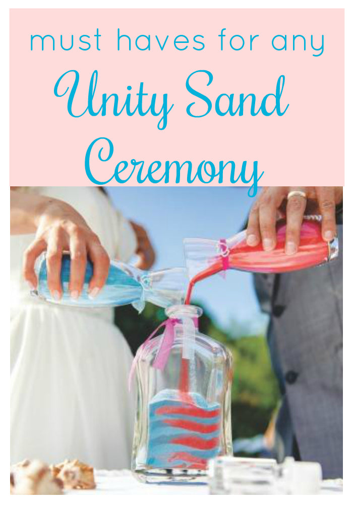 This is so helpful! Read this post to find out what you need for a wedding unity sand ceremony.  It will help you plan your unity sand ceremony so that it goes off without a hitch!