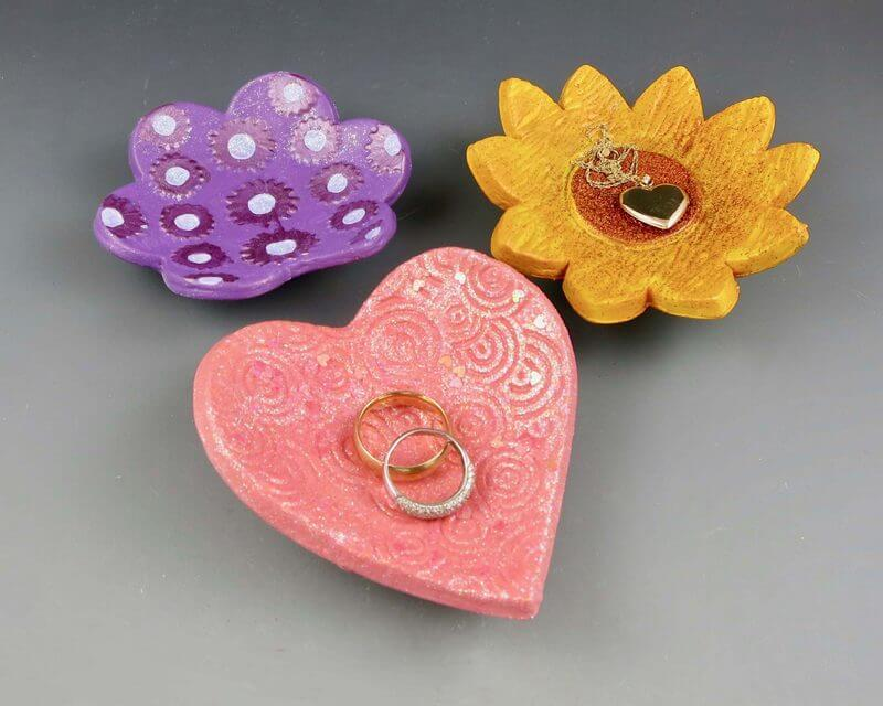 Air Dry Clay Trinket Dishes