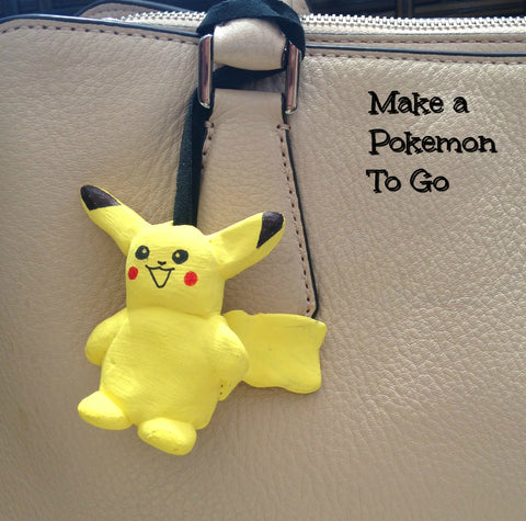 pikachu craft project