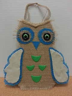 Make a 3D Owl with the addition of Scenic Sand and Decor Sand