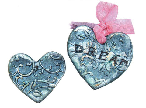 Hearty Clay Vintage Heart