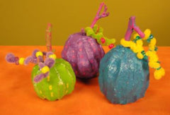 CelluClay Year Round Colorful Pumpkins
