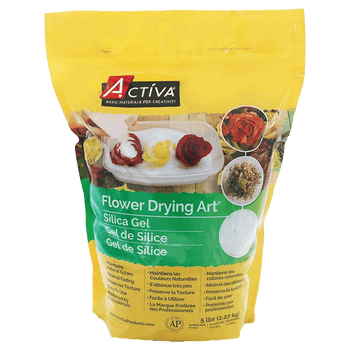 5 lb. Pouch of Flower Drying Art® Silica Gel