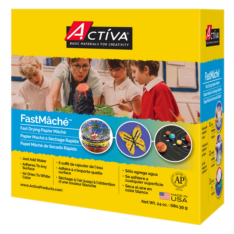 5 lbs. Activa Products Instant Papier Mache White