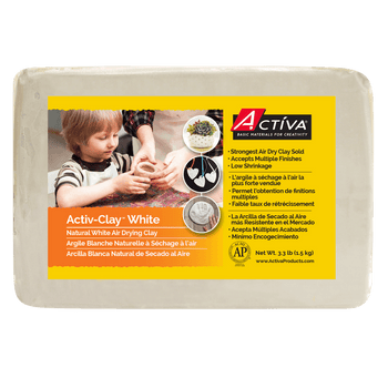 White Activ-Clay Air Dry Clay