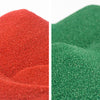 Christmas Colored Sand Bundle - 10 lbs. of Red and Forest Green Scenic Sand