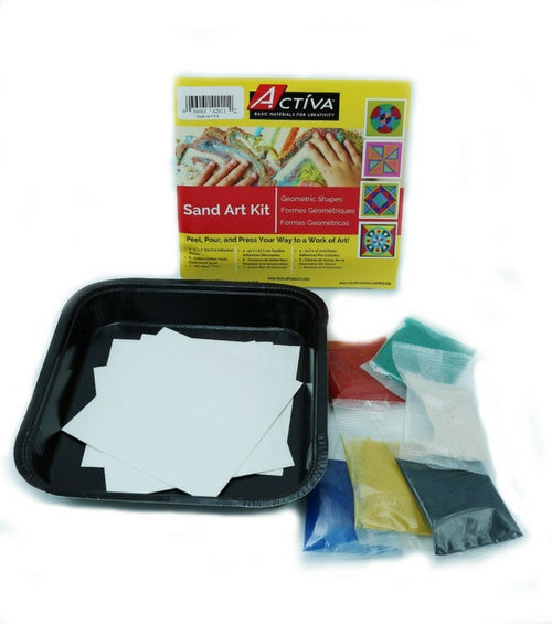 Sand Art Kit - Geometric Shapes