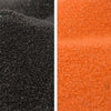 Halloween Orange and Black Colored Sand Bundle - 10 lbs.