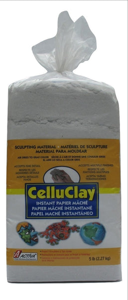 5 lb. Package of Gray CelluClay