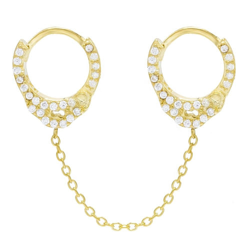 Gold Cuff Earring - Single