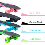"Max C - 27"" Electric Skateboard, World's Most Portable Motorized Penny Board with 4 colors for Kids, Boys, Girls, Youths, Beginners"