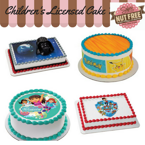 Children's Licensed Cakes