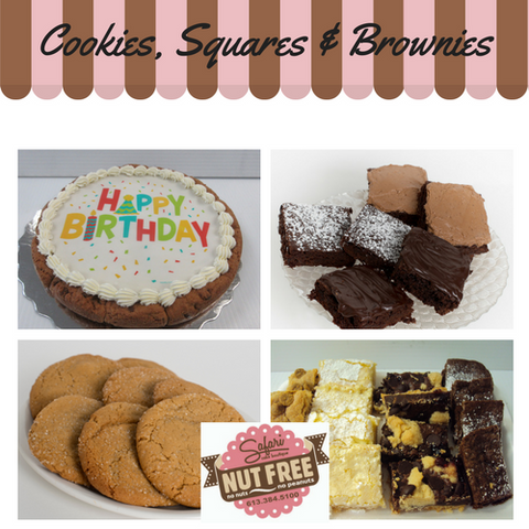 Cookies, Squares & Brownies