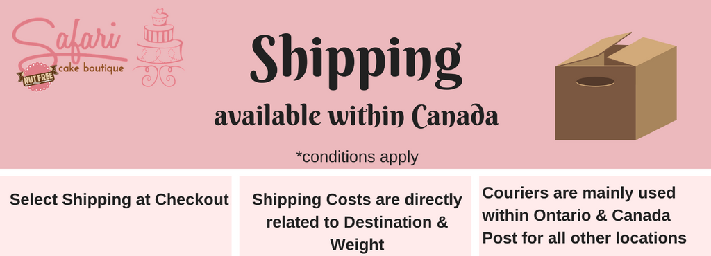 Shipping within Canada