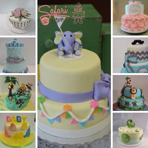 Custom Baby Shower Cakes