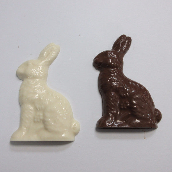 Chocolate Easter Rabbit,Safari Cake Boutique in Kingston sells chocolate lollipops for Easter. We are a Nut free & Peanut Free Bakery. Available in White, dark or mild chocolate. Call us today 613.384.5100