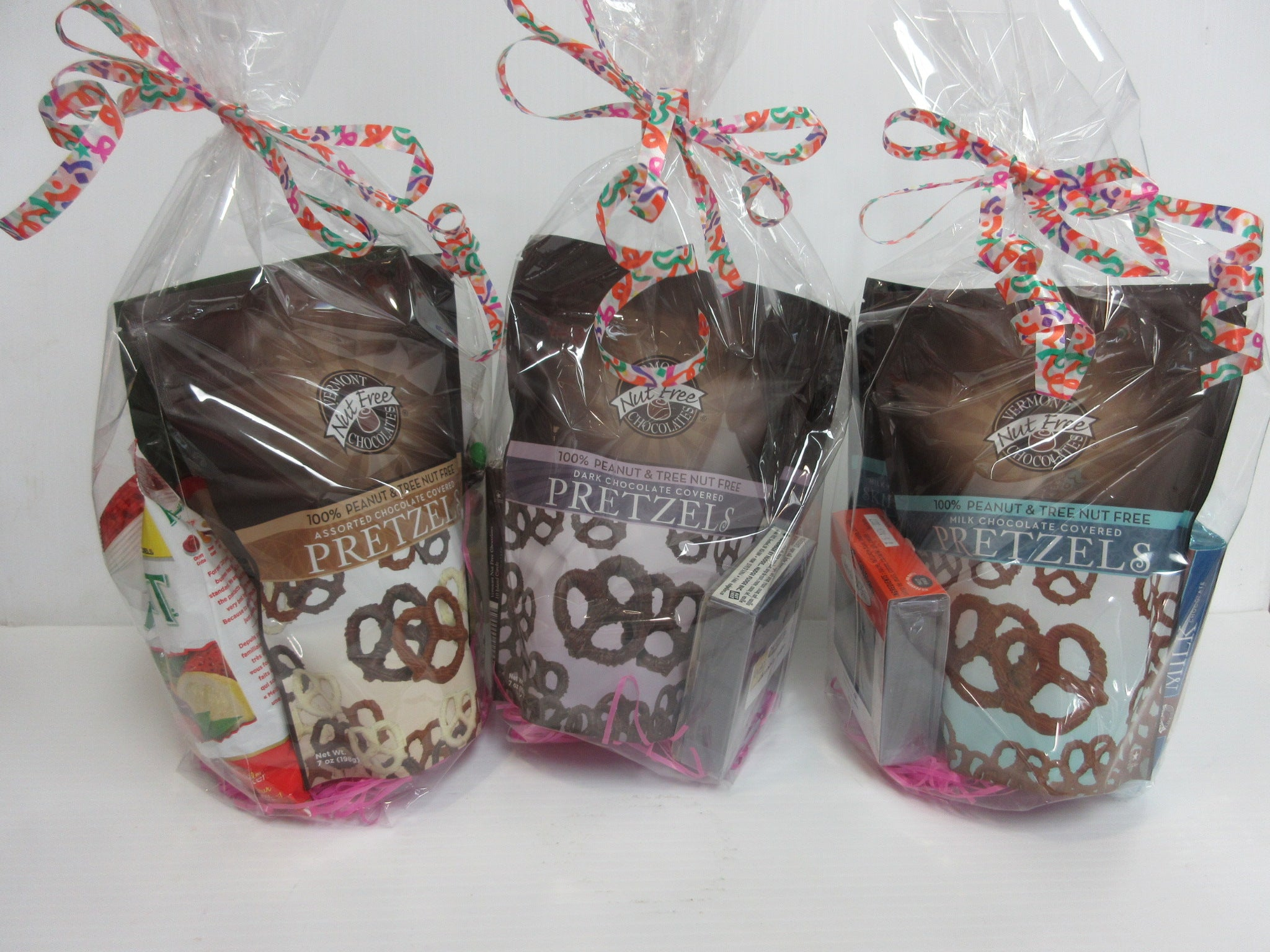 Chocolate Gift Bags - Back Side