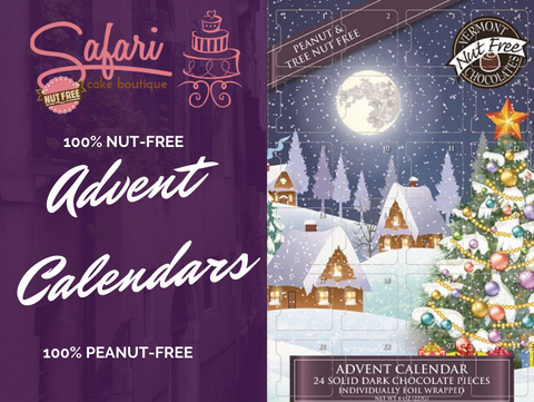 Nut-Free Dark Chocolate Advent Calendar
