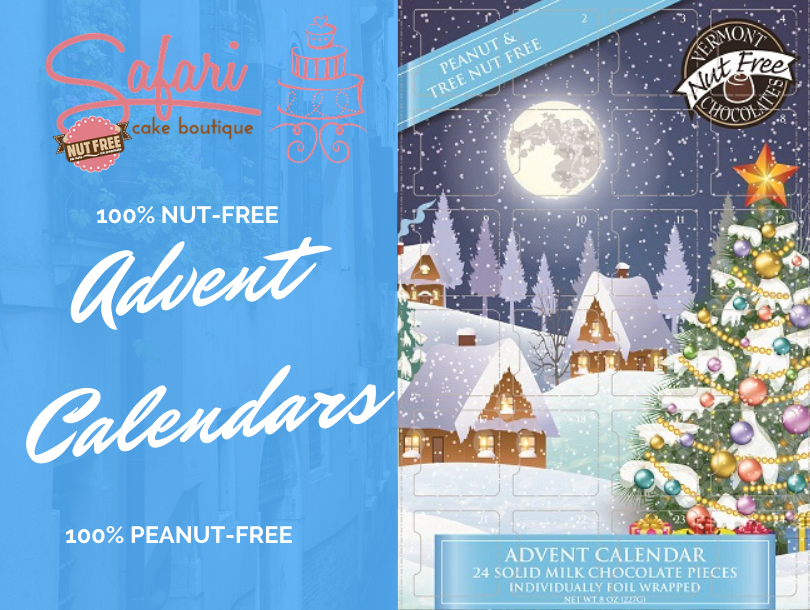 Nut-Free Milk Chocolate Advent Calendar