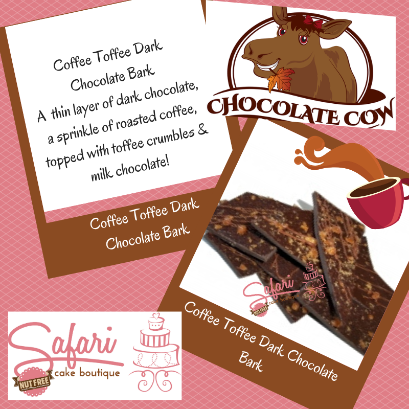 Coffee Toffee Dark Chocolate Bark
