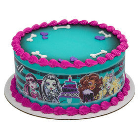 Monster High Celebration Screams Image Strips