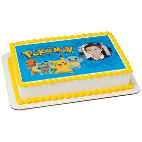 58218 Pokemon Pikachu & Friends PhotoCake Frame