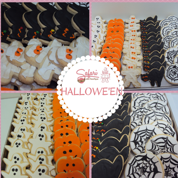 Hallowe'en Cookies - Custom Designs