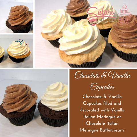 Cupcakes:  Chocolate or Vanilla
