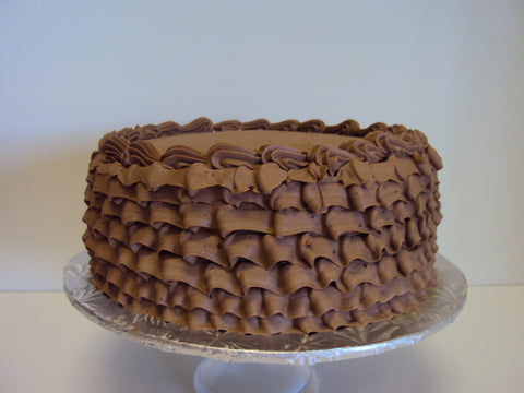 Chocolate Raspberry Cake with Chocolate Italian Meringue IcingYour local Nutfree Bakery. We sell gift baskets, cakes, cupcakes and more. Call us today 613.384.5100