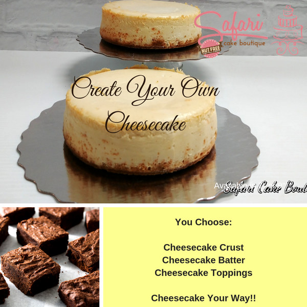 Create Your Own Cheesecake