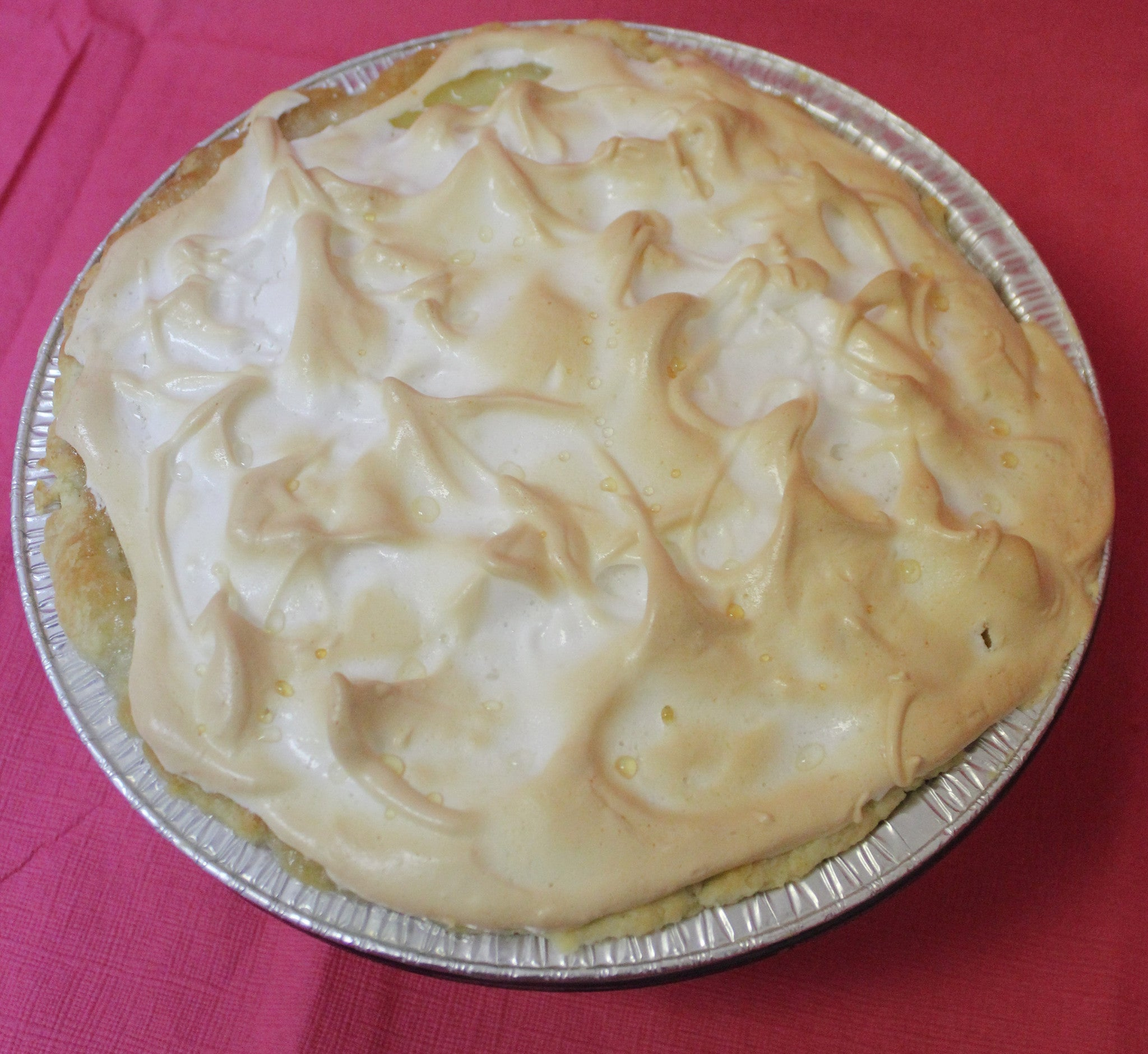 Pie: Meringue & Cream