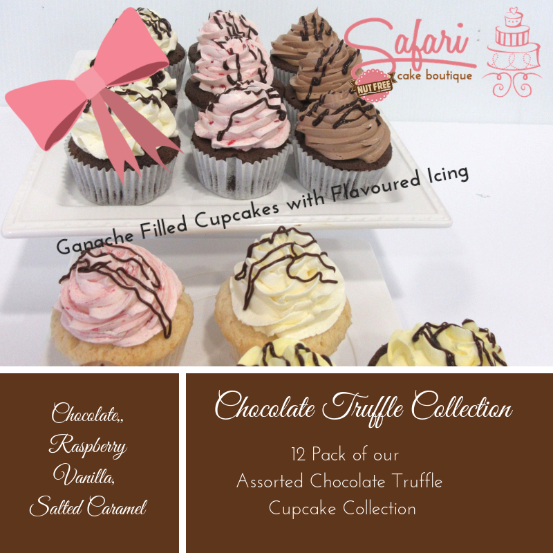 Chocolate Truffle Cupcake Sample Collection